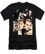 Borzoi Art - Suspicion Movie Poster Men's T-Shirt (Athletic Fit)