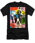 Boston Terrier Art - 30 Years Of Fun Movie Poster Men's T-Shirt (Athletic Fit)