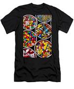 Bowls Of Buttons And Marbles Men's T-Shirt (Athletic Fit)