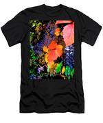 Bright Colorful Leaves Vertical Men's T-Shirt (Athletic Fit)