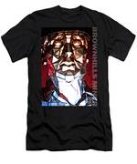 Brownhills Miner Face Men's T-Shirt (Athletic Fit)