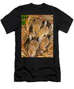 Bunny Babies Men's T-Shirt (Athletic Fit)