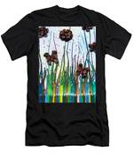 Butterflies And Flowers Men's T-Shirt (Athletic Fit)