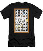 Butterfly Collection Men's T-Shirt (Athletic Fit)
