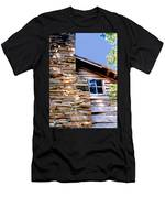 Cabin At Mabry Mill Men's T-Shirt (Athletic Fit)