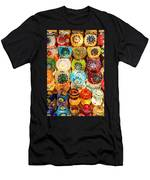 Candle Holders Men's T-Shirt (Athletic Fit)