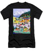 Canmore Art Walk Men's T-Shirt (Athletic Fit)
