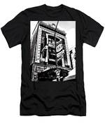 Carlos And Pepe's Montreal Mexican Bar Bw Men's T-Shirt (Athletic Fit)