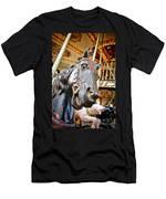 Carousel Horse Head Men's T-Shirt (Athletic Fit)