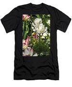 Chartres Garden White Men's T-Shirt (Athletic Fit)