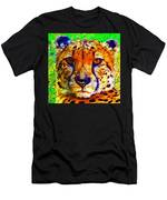 Face Of The Cheetah Men's T-Shirt (Athletic Fit)