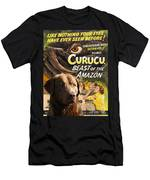 Chesapeake Bay Retriever Art - Curucu Movie Poster Men's T-Shirt (Athletic Fit)