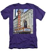 Chicago Theater Men's T-Shirt (Athletic Fit)