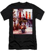 Childhood Montreal Memories Balconies And Bikes The Boys Of Summer Our Streets Tell Our Story Men's T-Shirt (Athletic Fit)