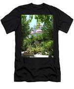 Church Of The Seven Apostles In Capernaum Israel Men's T-Shirt (Athletic Fit)