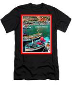 Cinque Terre Iv Men's T-Shirt (Athletic Fit)