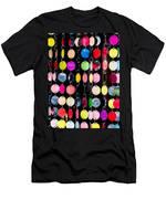 Colourful Circles Men's T-Shirt (Athletic Fit)