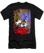 Colours Melting 3 Men's T-Shirt (Athletic Fit)