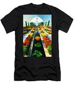 Como Conservatory's Fall Display. St Paul Minnesota. Men's T-Shirt (Athletic Fit)