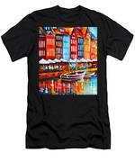 Copenhagen Denmark 2 Men's T-Shirt (Athletic Fit)