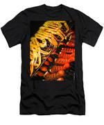 Crab Vs. Lobster Men's T-Shirt (Athletic Fit)