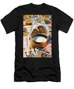 Crystal Ball And Tarot Cards Men's T-Shirt (Athletic Fit)