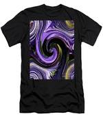 Crystal Fountain Twirls Men's T-Shirt (Athletic Fit)