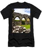 Cymer Abbey Snowdonia Men's T-Shirt (Athletic Fit)