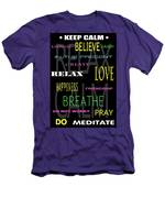 D I Y Anxiety Therapy Men's T-Shirt (Athletic Fit)
