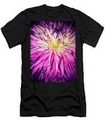 Dahlia Bursting With Color Men's T-Shirt (Athletic Fit)