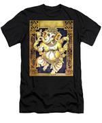 Dancing Ganesh Men's T-Shirt (Athletic Fit)
