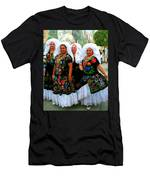 Dancing Queens Palm Springs Men's T-Shirt (Athletic Fit)