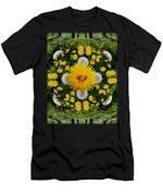 Dandelion Grove Mandala Men's T-Shirt (Athletic Fit)