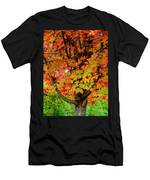 Day Glo Autumn Men's T-Shirt (Athletic Fit)