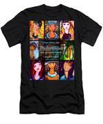Dazzle Neck Art Collection Men's T-Shirt (Athletic Fit)