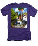 Desert Paradise Men's T-Shirt (Athletic Fit)