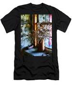 Dried Flowers On Windowsill Men's T-Shirt (Athletic Fit)