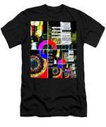 Eat Drink Explore Repeat 20140713 Vertical Men's T-Shirt (Athletic Fit)