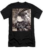 Eiffel Tower Elevator Shop C. 1888 Men's T-Shirt (Athletic Fit)