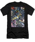 Electrical Cord Picking Men's T-Shirt (Athletic Fit)