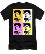Elvis Pop X Four Men's T-Shirt (Athletic Fit)