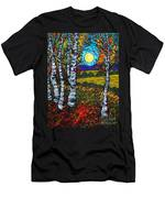 End Of Summer Birches Men's T-Shirt (Athletic Fit)