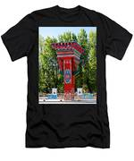 Entry Gate By Potala Palace In Lhasa-tibet Men's T-Shirt (Athletic Fit)