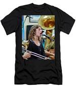 Erika Lewis With Tuba Skinny Men's T-Shirt (Athletic Fit)