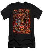 Exotic Priestess Men's T-Shirt (Athletic Fit)