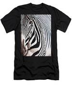 Eye Of The Zebra II Men's T-Shirt (Athletic Fit)