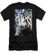 Eyjafjallajokull Glacier And Ashes Men's T-Shirt (Athletic Fit)