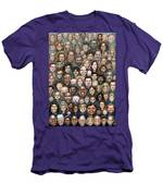 Faces Of Humanity Men's T-Shirt (Athletic Fit)