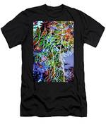 Fall Color Collage Men's T-Shirt (Athletic Fit)