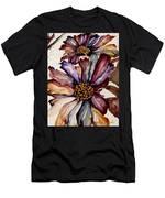 Fall Flower Colors  Men's T-Shirt (Athletic Fit)